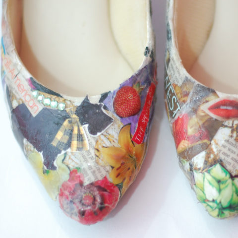 Decorate Shoes With Small Embellishments