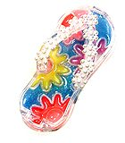 Flower power Flipflop lip gloss.