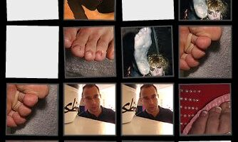 A Fun Foot Memory Game… With Pictures of Feet