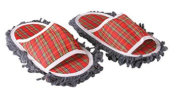 Sweeper Slippers & Mop Shoes… Well, They Just Might Work!