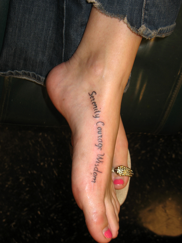 Foot tattoos 5 things to think about before you get a for Tattoo on the foot